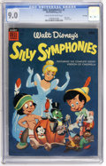 Golden Age (1938-1955):Cartoon Character, Dell Giant Comics Silly Symphonies #5 File Copy (Dell, 1955) CGCVF/NM 9.0 Cream to off-white pages....