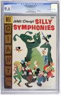 Golden Age (1938-1955):Funny Animal, Dell Giant Comics Silly Symphonies #7 File Copy (Dell, 1957) CGCNM+ 9.6 Off-white to white pages....
