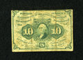 Fractional Currency:First Issue, Fr. 1242 10c First Issue Fine....