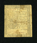 Colonial Notes:Pennsylvania, Pennsylvania April 10, 1777 4d Very Good....