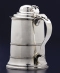 Silver Holloware, British:Holloware, A GEORGE III SILVER TANKARD. Stephen Adams, Jr., London, England,1804-1805. Marks: (lion passant), (leopard's head crowned)...