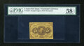 Fractional Currency:First Issue, Fr. 1230 5c First Issue PMG Choice About Unc 58 EPQ....