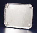 Silver Holloware, Continental:Holloware, A DANISH SILVER TRAY. Georg Jensen Silversmithy, Copenhagen,Denmark, after 1945. Marks: GEORG JENSEN (with dottedoval)...