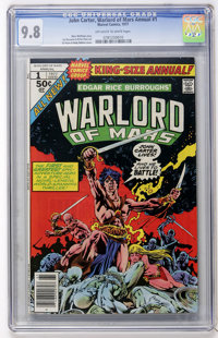 John Carter, Warlord of Mars Annual #1 (Marvel, 1977) CGC NM/MT 9.8 Off-white to white pages