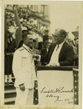 Autographs:U.S. Presidents, Franklin D. Roosevelt: Photograph Signed as New York Governor....