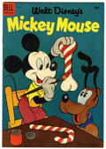 Golden Age (1938-1955):Cartoon Character, Mickey Mouse #39 (Dell, 1954) Condition: VF/NM....