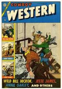Cowboy Western #52 (Charlton, 1954) Condition: VF+