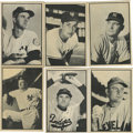 Baseball Cards:Sets, 1953 Bowman Black and White Set (64). Offered is a complete 1953 Bowman Black and White set of 64 cards in overall solid mid...