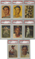Baseball Cards:Sets, 1957 Topps Baseball Complete Set (407). Offered is a 1957 Toppscomplete baseball set in overall solid middle grade. Plenty ...