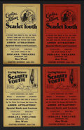 "Movie Posters:Drama, Scarlet Youth (Goodart Pictures, 1928). Heralds (11) (4.5"" X 7.25""). Exploitation Drama. Starring Corliss Palmer, Ruth Robin... (Total: 11 Item)"