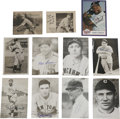 Autographs:Others, Baseball Hall of Famers Miscellaneous Signed Items Lot of 10. A total of ten Hall of Famers contribute their signatures to ...