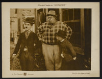 "Sunnyside (First National, 1919). Lobby Card (11"" X 14""). Comedy. Starring Charles Chaplin, Edna Purviance, To..."
