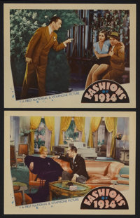 "Fashions of 1934 (Warner Brothers, 1934). Lobby Cards (2) (11"" X 14""). Musical Comedy. Starring William Powell..."