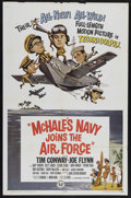 """Movie Posters:Comedy, McHale's Navy Joins the Air Force (Universal, 1965). One Sheet (27"""" X 41""""). Comedy. Starring Tim Conway, Joe Flynn, Gary Vin..."""