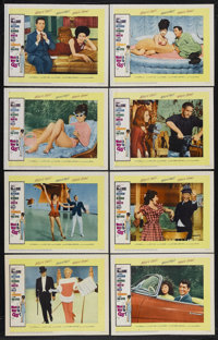 """What a Way to Go! (20th Century Fox, 1964). Lobby Card Set of 8 (11"""" X 14""""). Romantic Comedy. Starring Shirley..."""