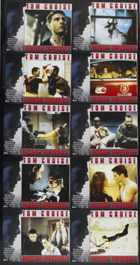 "Mission: Impossible (Paramount, 1996). Lobby Card Set of 10 (11"" X 14""). Action. Starring Tom Cruise, Jon Voig..."