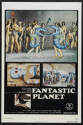 "Movie Posters:Animated, Fantastic Planet (New World Pictures, 1973). One Sheet (27"" X 41"").Animated. Starring the voices of Jennifer Drake, Sylvie ..."