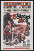 """Movie Posters:Crime, The Scarface Mob (MGM, 1962). One Sheet (27"""" X 41""""). Crime. Starring Robert Stack, Keenan Wynn, Neville Brand, Barbara Nicho..."""