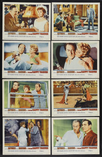 """The Happy Thieves (United Artists, 1962). Lobby Card Set of 8 (11"""" X 14""""). Crime Comedy. Starring Rita Haywort..."""