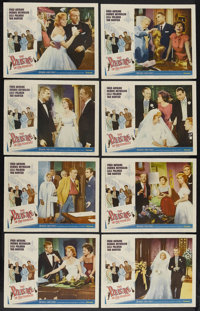"""The Pleasure of His Company (Paramount, 1961). Lobby Card Set of 8 (11"""" X 14""""). Comedy. Starring Fred Astaire..."""