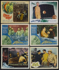 """Movie Posters:Science Fiction, Science Fiction Lot (Various, 1956-1966). Lobby Cards (6) (11"""" X 14""""). Science Fiction. Included in this lot are lobby cards... (Total: 6 Items)"""