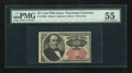 Fractional Currency:Fifth Issue, Fr. 1309 25c Fifth Issue PMG About Uncirculated 55....