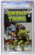 Bronze Age (1970-1979):Horror, Swamp Thing #6 (DC, 1973) CGC NM+ 9.6 Off-white to white pages....