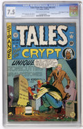 "Golden Age (1938-1955):Horror, Tales From the Crypt #20 (#1) Davis Crippen (""D"" Copy) pedigree(EC, 1950) CGC VF- 7.5 Cream to off-white pages...."