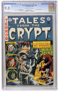 Golden Age (1938-1955):Horror, Tales From the Crypt #34 (EC, 1953) CGC VF/NM 9.0 Off-white towhite pages....