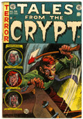 Golden Age (1938-1955):Horror, Tales From the Crypt #38 (EC, 1953) Condition: VG/FN....