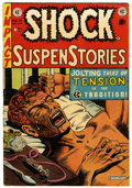 Golden Age (1938-1955):Horror, Shock SuspenStories #12 (EC, 1953) Condition: FN....