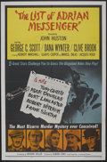 "Movie Posters:Mystery, The List of Adrian Messenger (Universal, 1963). One Sheet (27"" X 41""). Mystery...."