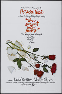 """The Subject Was Roses (MGM, 1968). One Sheet (27"""" X 41""""). Drama"""