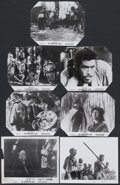 """Movie Posters:Action, The Seven Samurai (Columbia, 1956). Stills (7) (8"""" X 10"""").Action.... (Total: 7 Items)"""