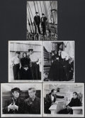 "Movie Posters:Adventure, Souls at Sea (Paramount, R-1943). Stills (5) ( (8"" X 10"").Adventure.... (Total: 5 Items)"