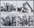 "Movie Posters:War, Sahara (Columbia, R-1979/1981). Stills (4) (8"" X 10""). War....(Total: 4 Items)"