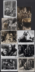 "Movie Posters:Historical Drama, Ivan the Terrible, Part I Lot (Artkino, 1944). Stills (10) (8"" X10""). Historical Drama.... (Total: 10 Items)"
