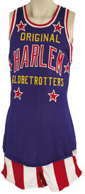 Basketball Collectibles:Uniforms, Late 1960's Geese Ausbie Game Worn Harlem Globetrotters Jersey.Ranking as this country's top goodwill ambassadors in the f...