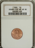 Lincoln Cents, 1995 1C Double Die MS68 Red NGC. NGC Census: (25/0). PCGSPopulation (63/0). Numismedia Wsl. Price for NGC/PCGS coin inMS6...