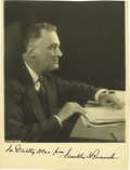 Autographs:U.S. Presidents, Franklin D. Roosevelt: Photograph Inscribed and Signed as President....