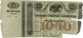 Large Size:Demand Notes, Fr. UNL Hessler X116F $1000 Loan of 1847 Registered Bond Fine,PC....