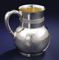 Silver Holloware, American:Pitchers, AN AMERICAN SILVER WATER PITCHER. Tiffany & Co., New York, New York, circa 1870-1875. Marks: TIFFANY & CO., QUALITY, 925/1...
