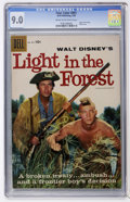 Silver Age (1956-1969):Adventure, Four Color #891 Light in the Forest (Dell, 1958) CGC VF/NM 9.0 Cream to off-white pages....