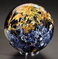 Lapidary Art:Spheres, WORLD'S LARGEST PIETERSITE SPHERE. ...