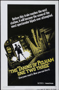 "Movie Posters:Crime, The Taking of Pelham One Two Three (United Artists, 1974). One Sheet (27"" X 41"") Advance. Crime...."