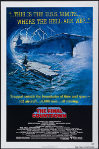 """The Final Countdown (United Artists, 1980). One Sheet (27"""" X 41""""). Science Fiction"""