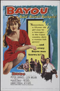 "Movie Posters:Drama, Bayou (United Artists, 1957). One Sheet (27"" X 41""). Drama...."