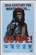 "Movie Posters:Science Fiction, Go Ape! (20th Century Fox, 1974). Planet of the Apes Film FestivalOne Sheet (27"" X 41""). . ..."