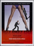 "Movie Posters:James Bond, For Your Eyes Only (United Artists, 1981). One Sheet (27"" X 41"")Advance. James Bond...."