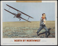 "Movie Posters:Hitchcock, North by Northwest (MGM, 1959). Lobby Card (11"" X 14"").Hitchcock...."